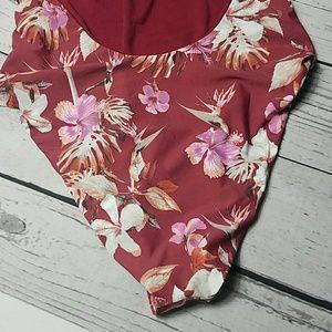 Gianni Bini Swim - GIANNI BINI swimsuit floral high leg
